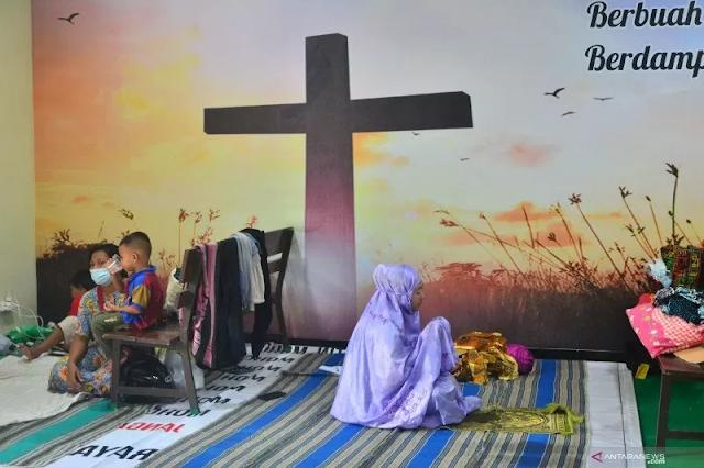 Pengungsi Banjir Tinggal Sekitar 150 Jiwa