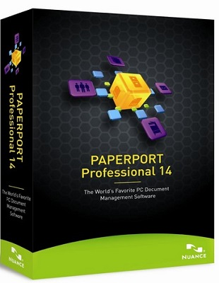 Nuance PaperPort Professional 14.5.15451.1609 poster box cover