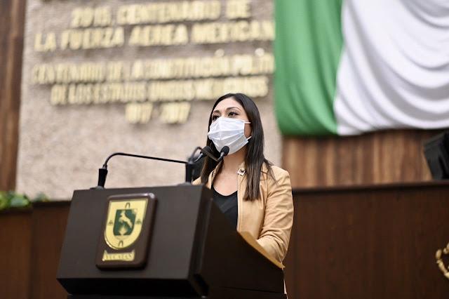 Plantean protección al trabajo de los periodistas yucatecos y certidumbre a la labor informativa. diputada de Morena, Fátima Perera Salazar