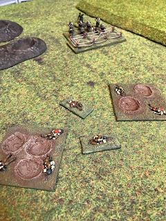 The German defenders destroy the British bomber section