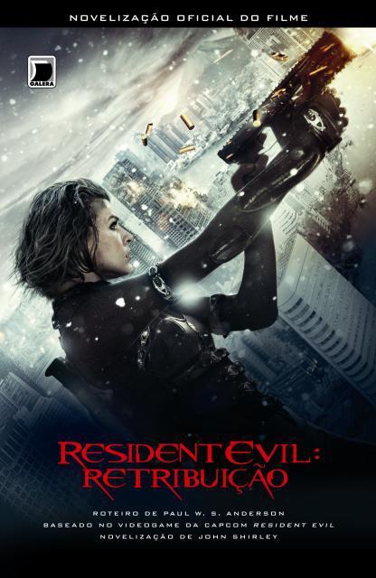 News: Capa do livro Resident Evil 5: Retribuicao. 6