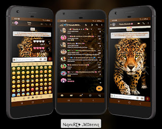Leopard Theme For YOWhatsApp & YX WhatsApp By Nanda