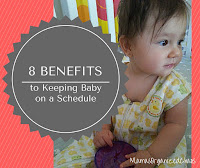 8 BENEFITS OF KEEPING BABY ON A SCHEDULE