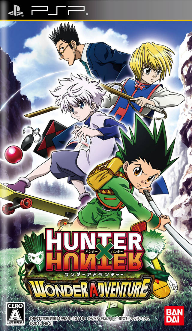 تحميل لعبة hunter x hunter wonder adventure