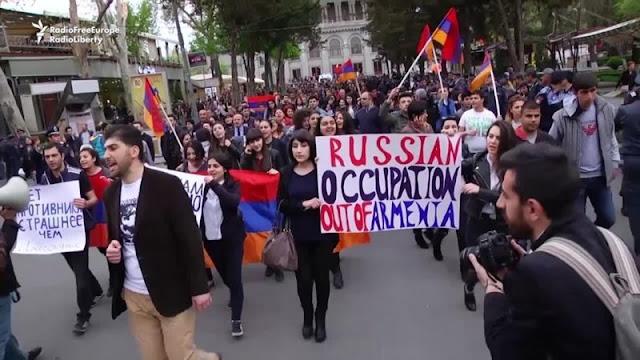 В Армении потребовали передать пограничные функции от ФСБ России СНБ Армении