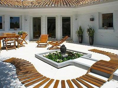 Zen ambient for Jardines minimalistas pequenos
