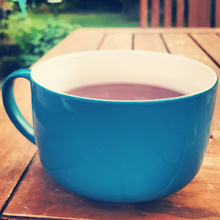 Fruit Tea in the Garden