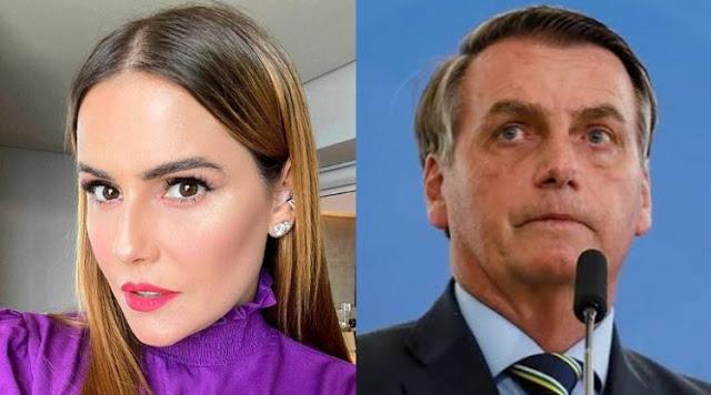 Deborah Secco surpreende e pede sete dias no lugar de Bolsonaro