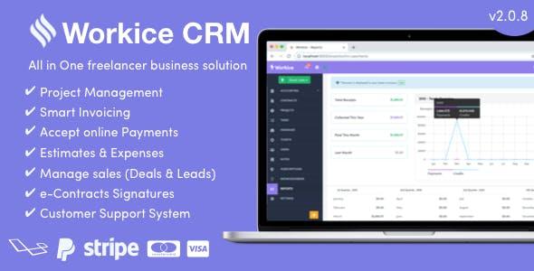 Workice v2.0.5 - The Ultimate Freelancer CRM