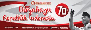 Download Banner 17 Agustus 2015 70 tahun Indonesia Merdeka