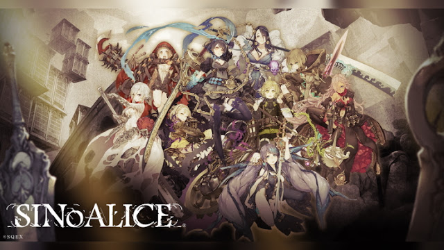 Yoko Taro's Dark Fantasy Adventure SINoALICE Opens Global Pre-Registration on the App Store Today, Available Regions Announced for July 1 Launch