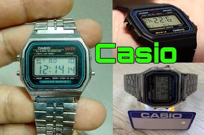 تعرف على سعر ساعة كاسيو القديمة