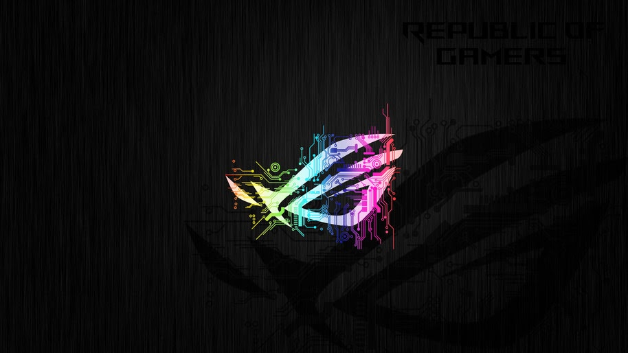 rog logo colorful circuit uhdpaper.com 4K 1 wp.thumbnail