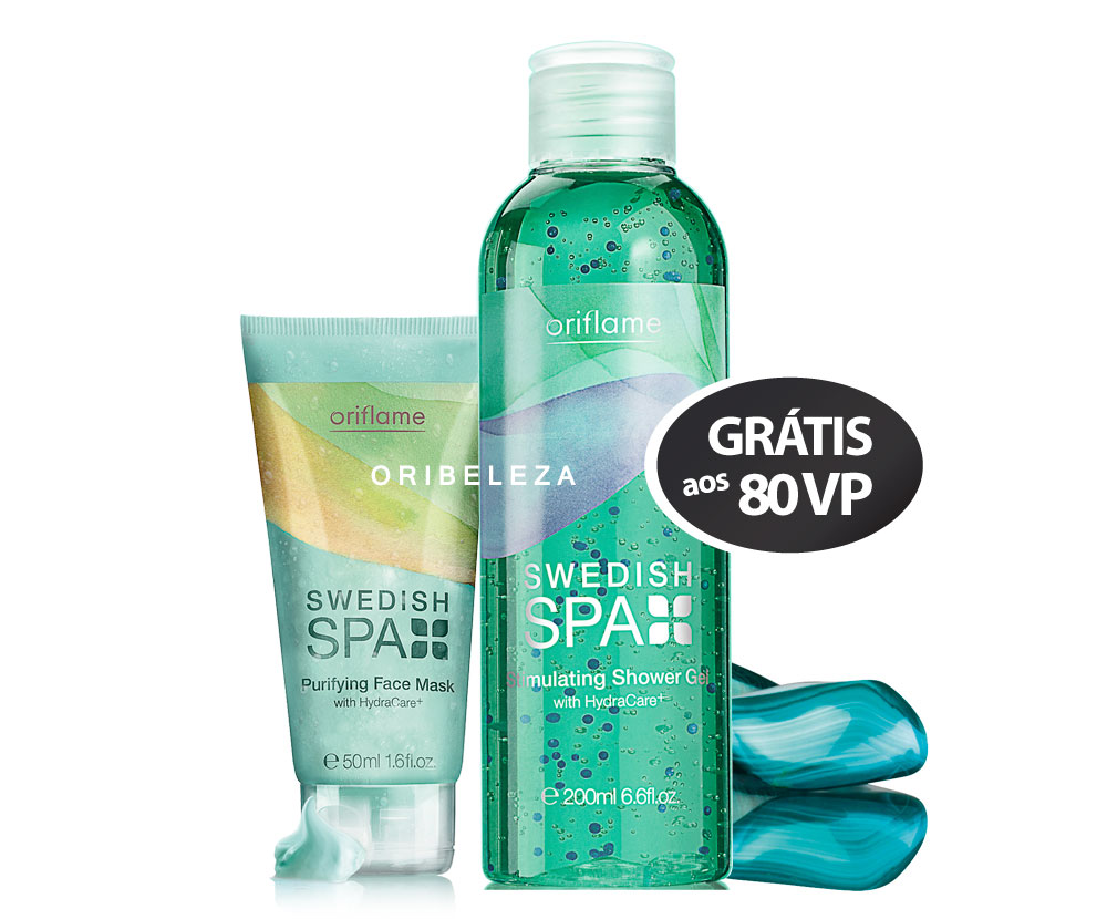 Conjunto Swedish Spa da Oriflame