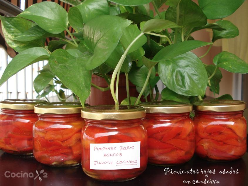 Cocinax2 las recetas de laurita pimientos rojos asados - Como hacer mermelada de pimientos ...