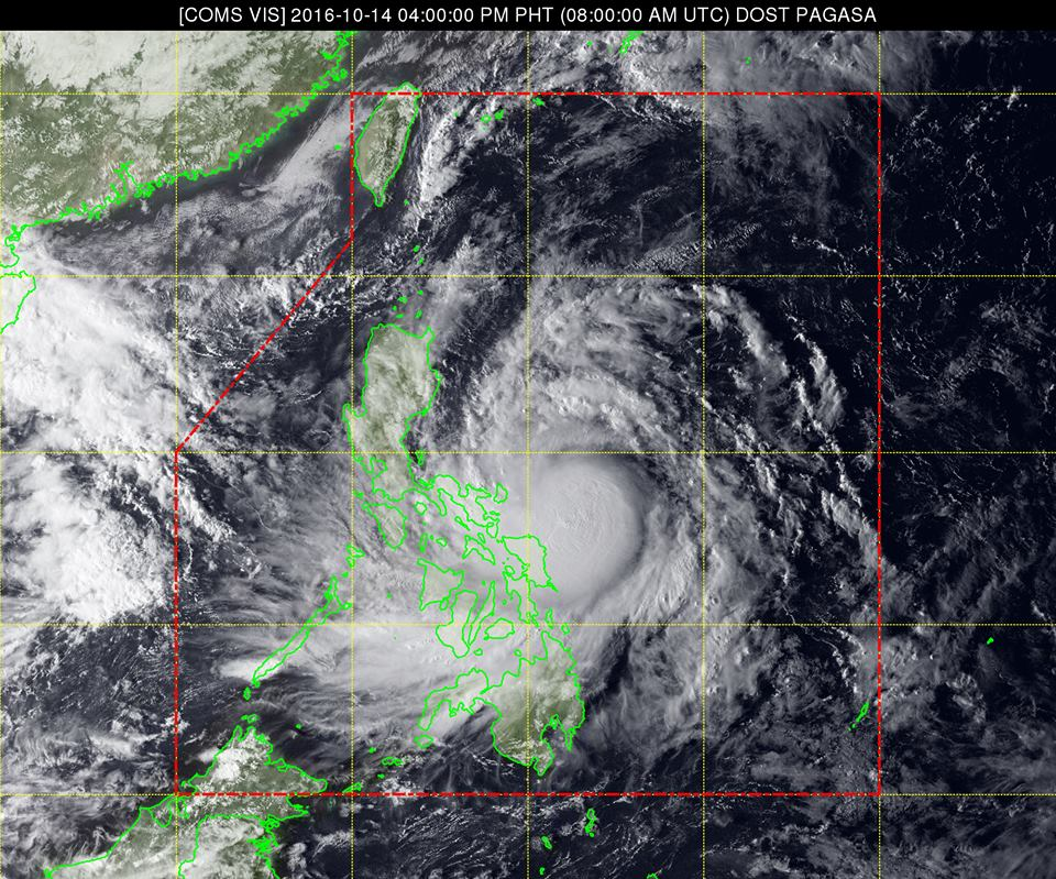 'Bagyong Karen' now threatens Catanduanes, Signal No. 1 up in Metro Manila