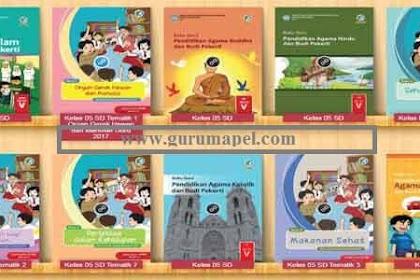 Buku Paket SD Kelas 5 Tahun 2020 Semua Pelajaran