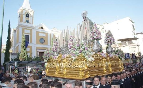 Ocho procesiones marcan la agenda cofrade del mes de mayo en Málaga