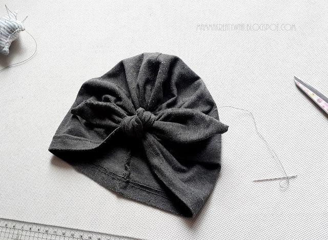 DIY: czapka turban w 30 minut