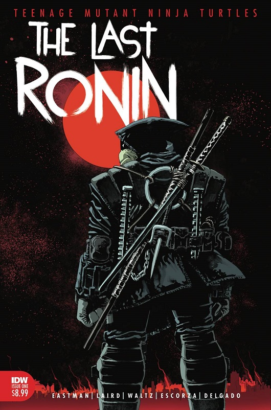 Cover of TMNT The Last Ronin #1