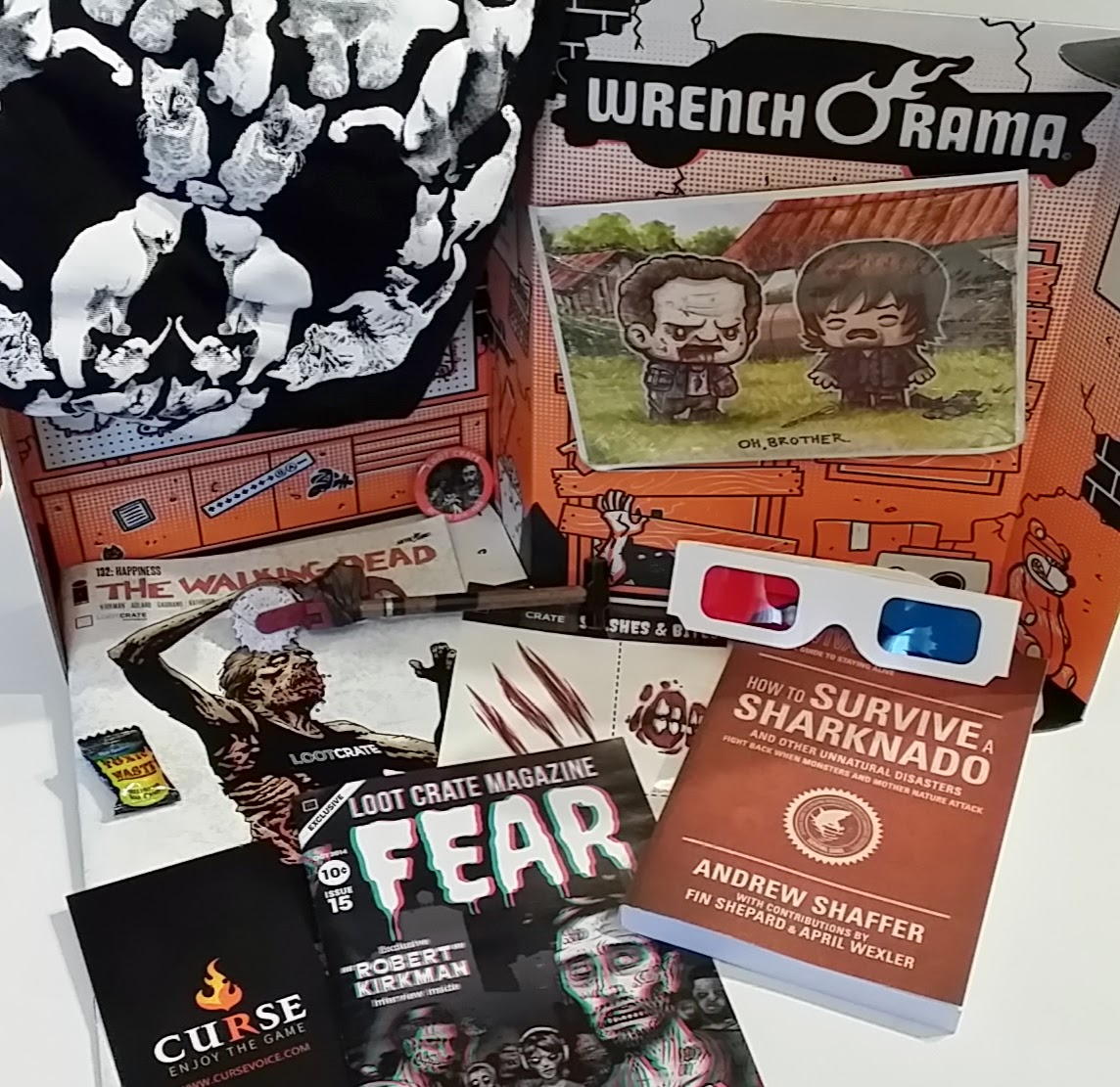 Loot Crate Review October 2014 | iMonthly~Subscribe