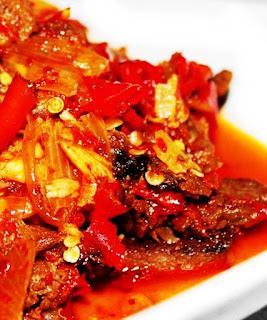 Resep Cara Membuat Daging Layu Rica-Rica Khas Subang