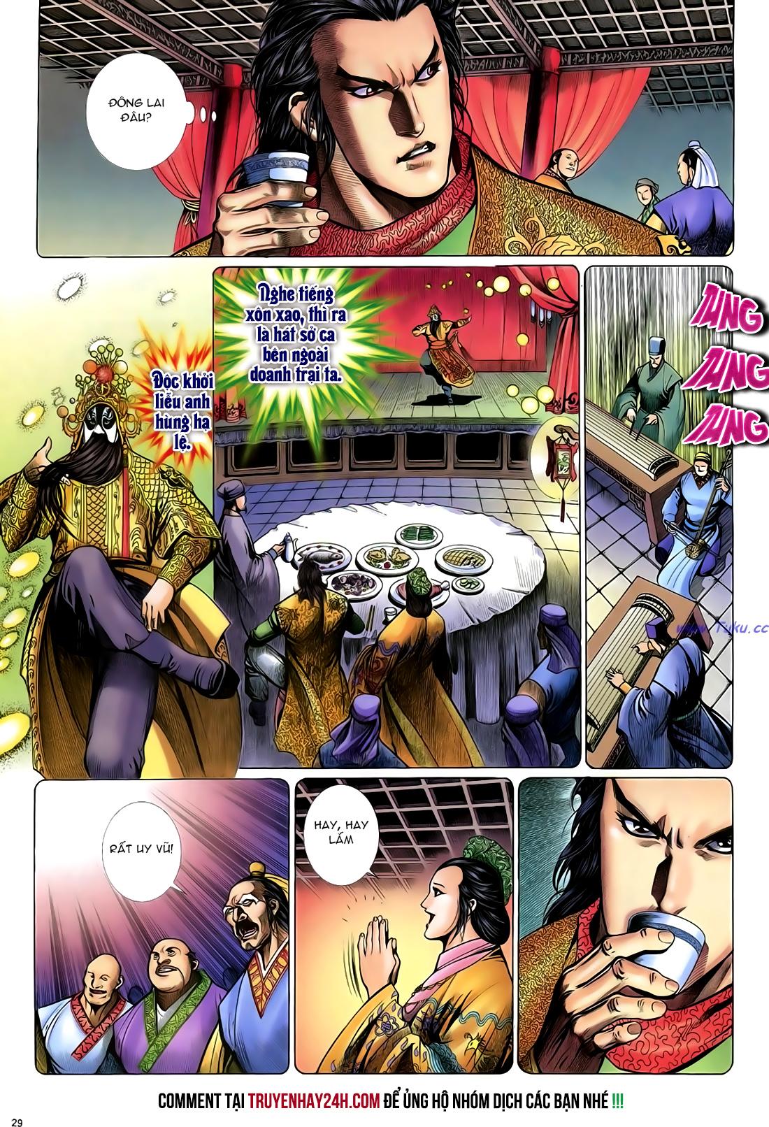 Anh hùng vô lệ Chap 24 trang 30