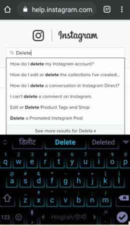 searching-for-delete-instagram-account-in-hindi