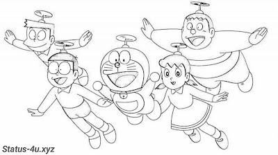 10+ Best Doraemon drawing images | Easy Doraemon drawing