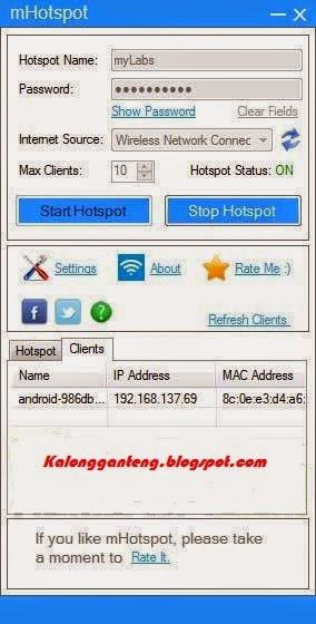 Download Aplikasi Pembuat Hotspot/Wifi Terbaru