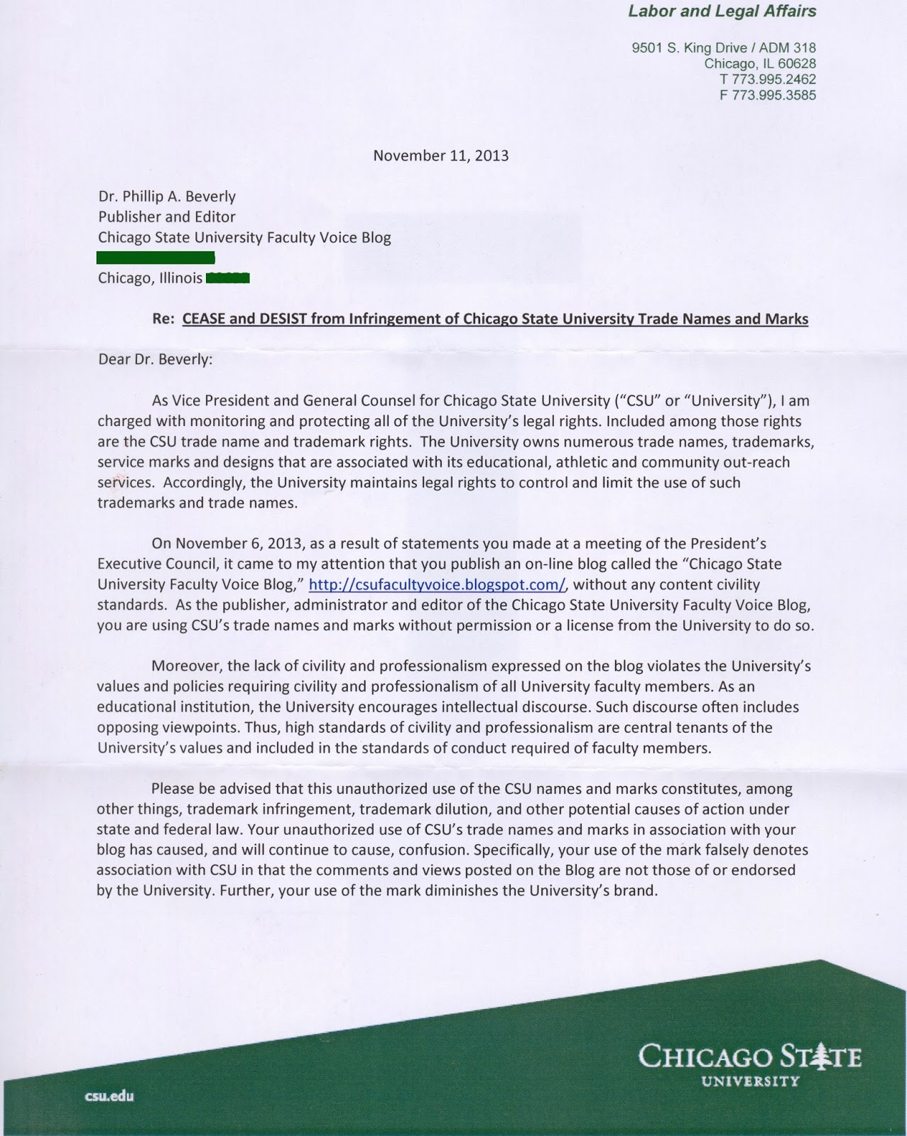 University With History Free Speech Violations Abuses Trademark