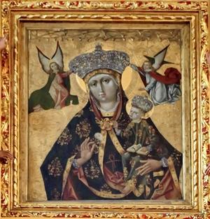 cudowne obrazy Matki Bożej łaskami słynące