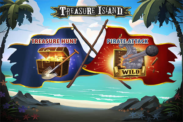 Main Gratis Slot Treasure Island (Quickspin)
