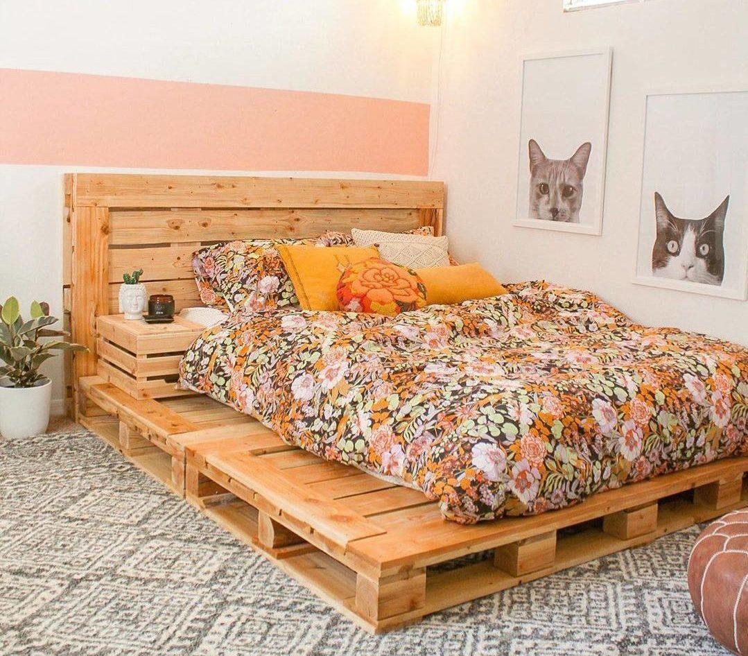 Cómo hacer una cama de palets paso a paso_10