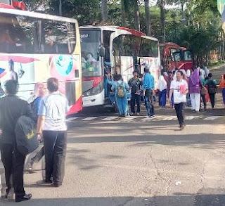 Rental Bus Ekonomi Tangsel