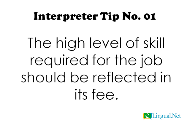 Interpreter Tips: Tips For Professional Freelance Interpreters | www.elingual.net