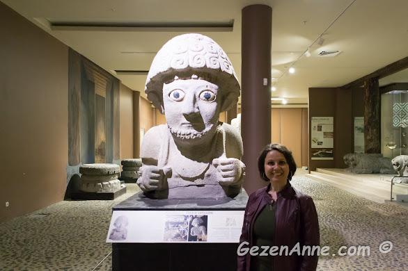 Hatay yeni Arkeoloji müzesini gezerken, Antakya
