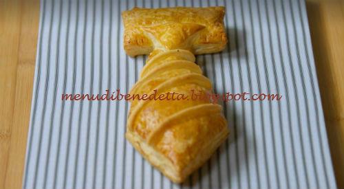 Cravatta Di Pasta Sfoglia Ricetta Benedetta Rossi Da Fatto In Casa Per Voi