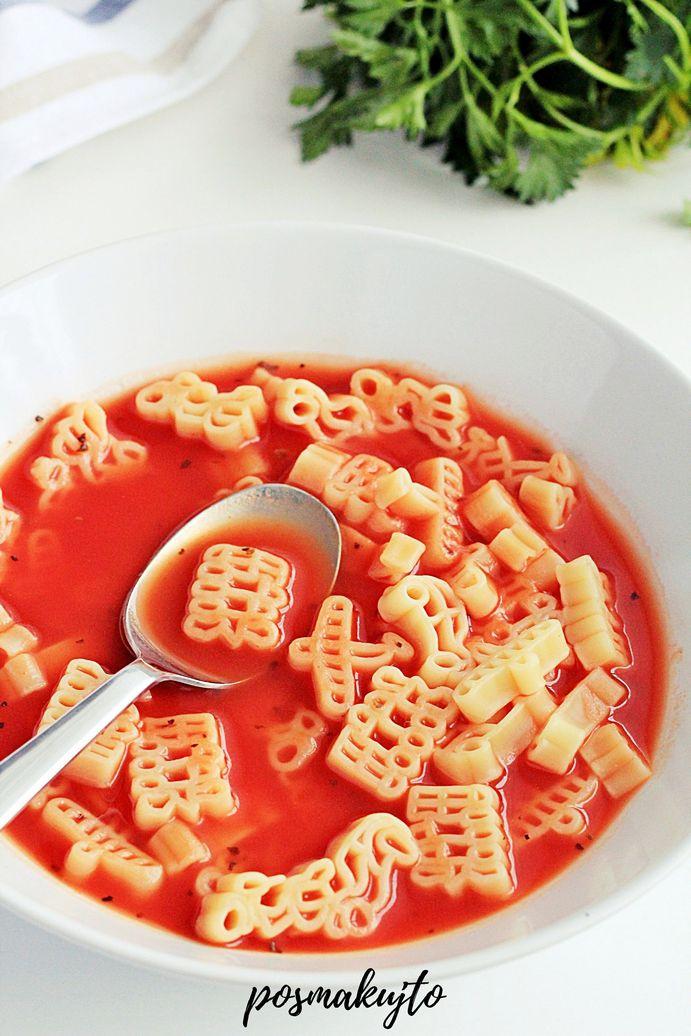 Zupa pomidorowa na passacie