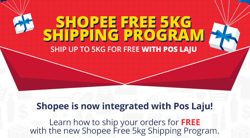 cara dapat shipping free shopee