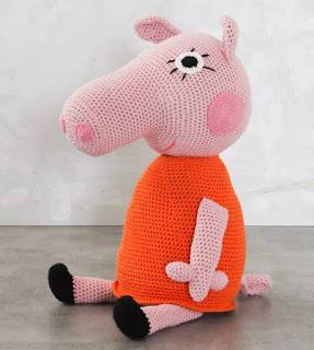 PATRON GRATIS PEPPA PIG AMIGURUMI 40328