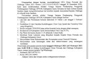 LOKER Seleksi Tenaga Sarjana Pendamping Penggerak Pembangunan Olahraga Kab. Garut
