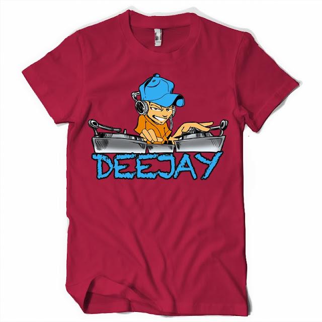 deejay tshirts