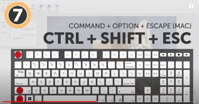 showing-a-keyboard-shortcut-key-and-comand-in-text-image