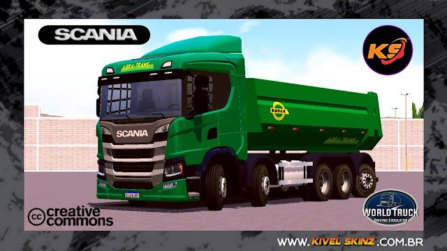 SCANIA P320 CAÇAMBA - AGRA TRANS