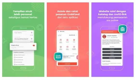 aplikasi kasir online sekaligus stok barang Qasir