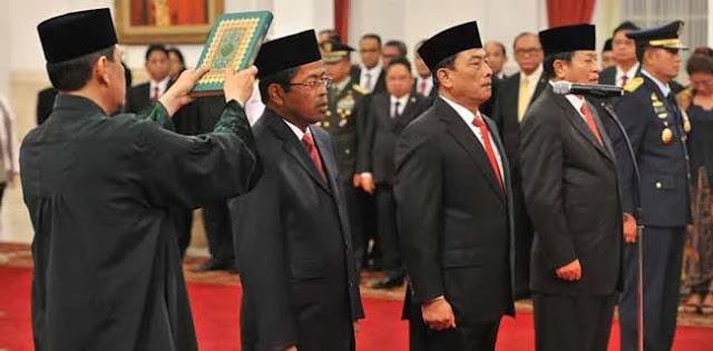 Presiden Jokowi Tipu PBNU, Itu Hebat!