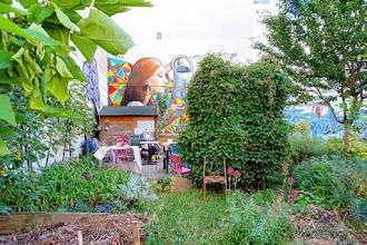 Paris : Jardin Fessart, oasis communautaire aux Buttes Chaumont - XIXème