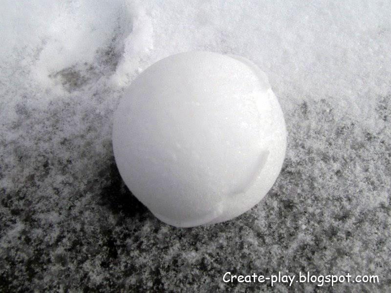 Снежколеп лепим снежки