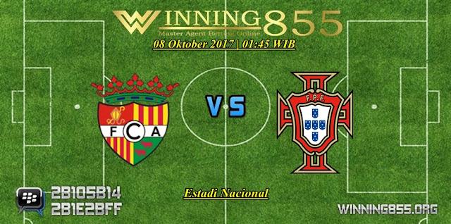 Prediksi Skor Andorra vs Portugal 08 Oktober 2017
